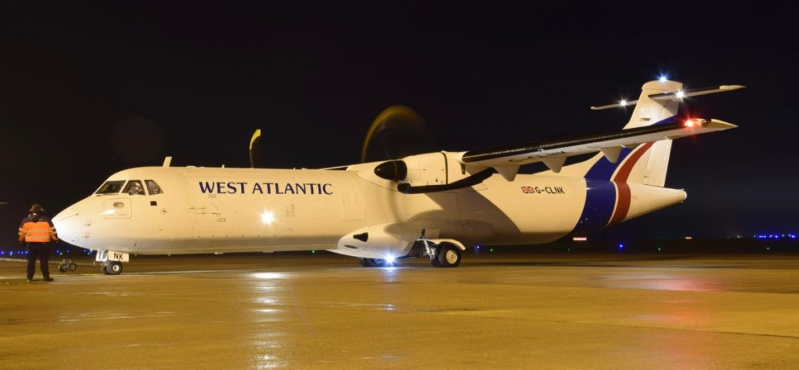 West Atlantic receives the first ATR-72F